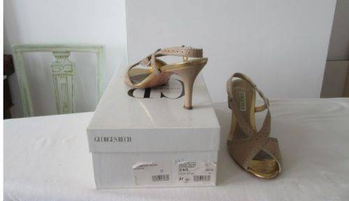 Sandales habillées Georges Rech 37,5 etat neuf