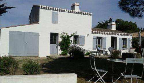 Loue jolie maison de vacances, 5chambres, 11couchages plage Luzéronde Noirmoutier (85)
