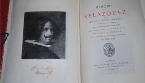Mémoires de Velázquez sur quarante et un tableaux, datant de 1874