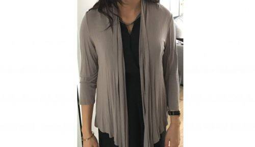 Gilet viscose taille M