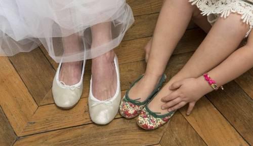 Chaussures-Ballerines en cuir filles, bébés pointure du 18au 34