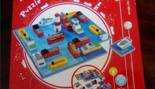 Puzzle 3D Navy