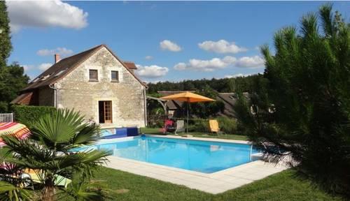 Loue maison, proche Futuroscope, 7couchages, piscine, entre Tours et Poitiers