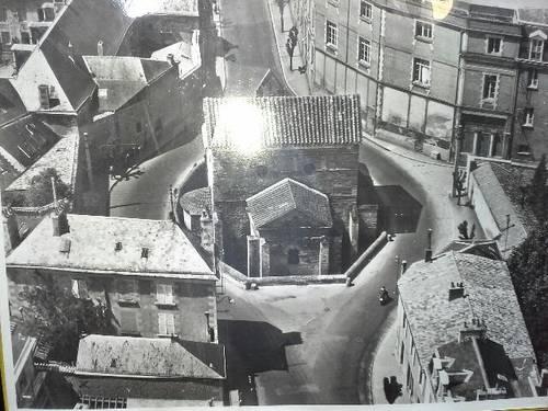 "Rare photo Poitiers ""temple Saint Jean """