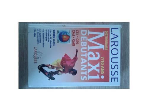 Vends Larousse Maxi Débutants 7-10ans