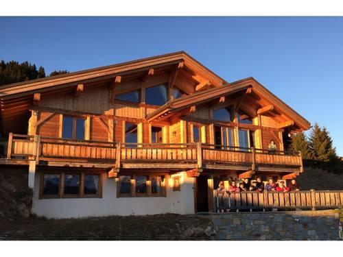 Loue Luxueux chalet vue Mont Blanc Hauteluce 16couchages