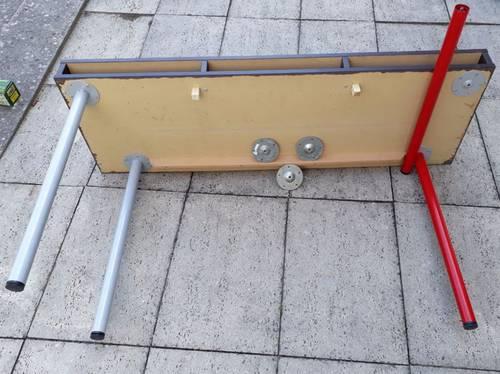 Vends table-basse convertible en table-haute