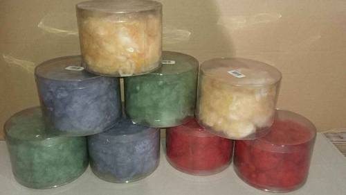 Lot de 8paquets de laine à feutrer, 100% laine de mouton