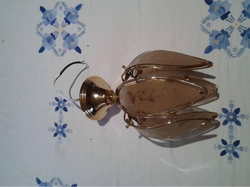 Plafonnier lampe tulipe