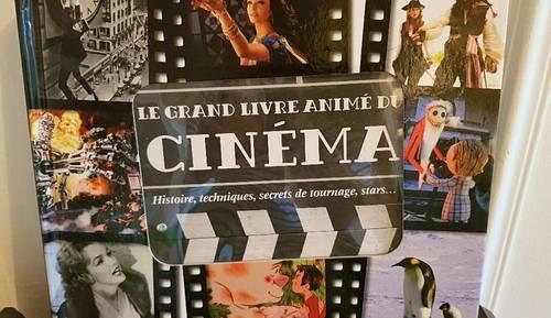 "Livre Jeunesse ""Le grand livre animé du Cinéma"""