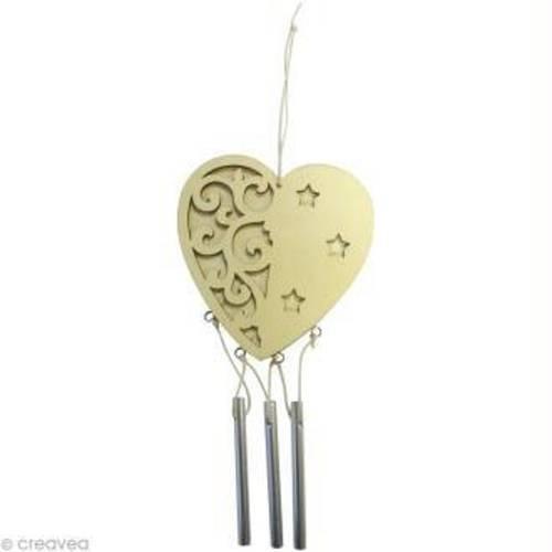 Petit carillon en forme de coeur