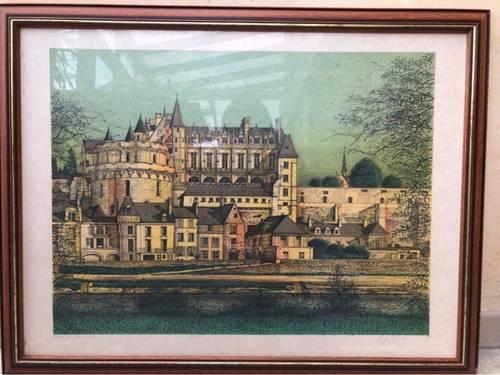 Vends tableau Carzou - Château Amboise