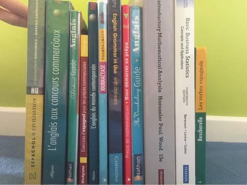 Lot de livres Prépa ECE