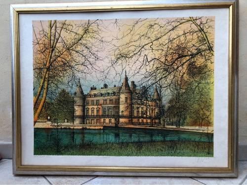 Vends tableau Carzou - Château de Rambouillet
