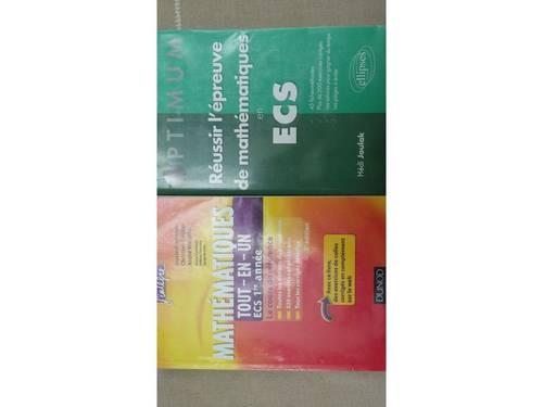 Livres Prépa ECS