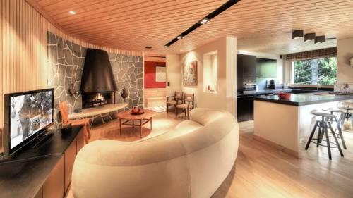 Megève Centre-Appartement luxueux 3chambres 8couchages
