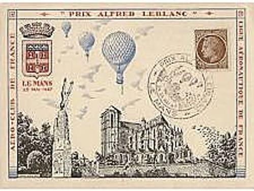 Je vends cartes Prix Alfred Leblanc, Le Mans 25mai 1947