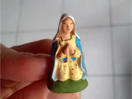 Vends santon Vierge Carbonel