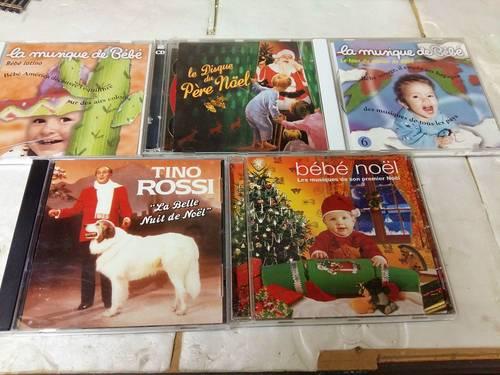 Vends plusieurs CD de Noël