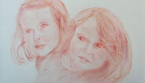 Portraits en sanguine ou pastels: jolis souvenirs de vos proches