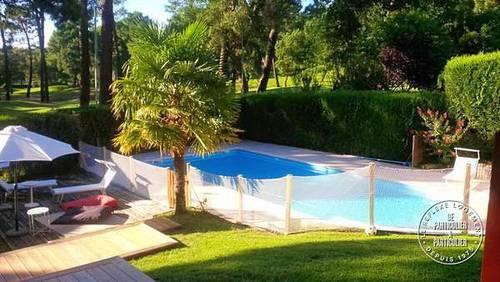 Loue Seignosse Hossegor (40) villa sur le golf, 5chambres 12couchages piscine