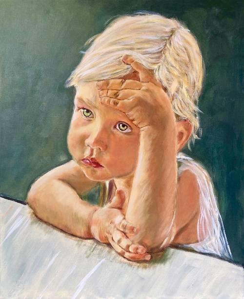 Propose portraits peints d'après photographies
