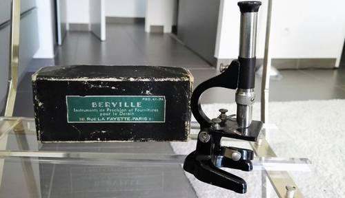 Petit microscope de précision 1910- 1920