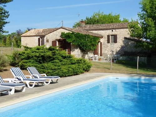 Dordogne - Loue ancienne bergerie restaurée - piscine - 8couchages