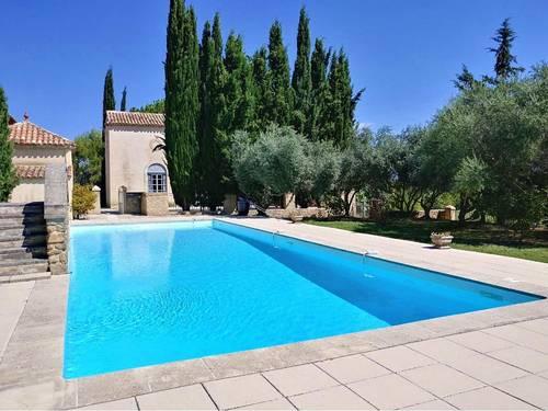 Loue maison Parc du Luberonavec piscine cadre exceptionnel - 8couchages, 4chambres Grambois (84)