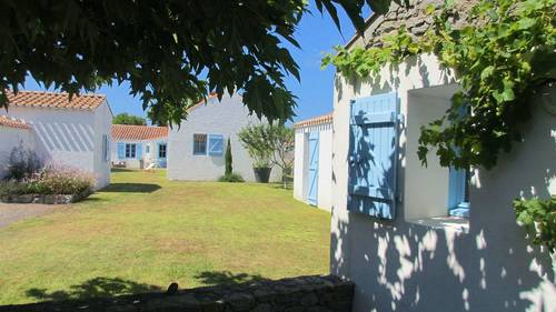 Loue double maison à Noirmoutier - 10-12couchages- Sauf Août!