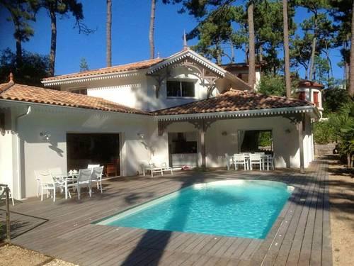 Loue Villa neuve avec piscine Arcachon Le Moulleau 12couchages