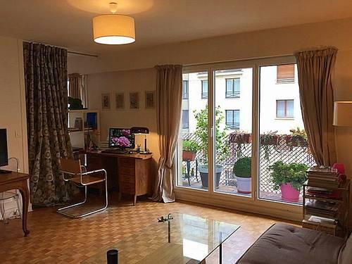 Loue T2, 53m², 2couchages, meublé à Invalides 7ème, lumineux, balcon