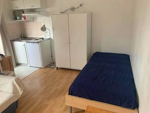 Loue studio meublé 15m², Paris Péreire-Wagram - libre tout de suite