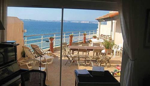 Durant l'été loue Maison à Marseille sur plage - 8couchages