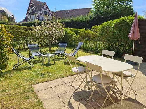 Loue maison avec jardin Cabourg à 100m plage - 2chambres 4couchages