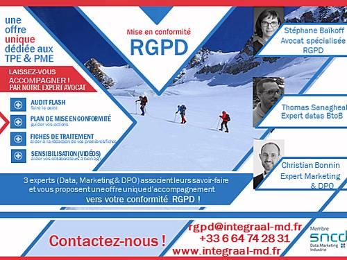 Conformité RGPD pour les PME: une offre dédiée pour vous!
