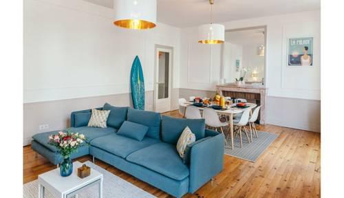 Loue très bel appartement hyper-centre de Biarritz, 7personnes