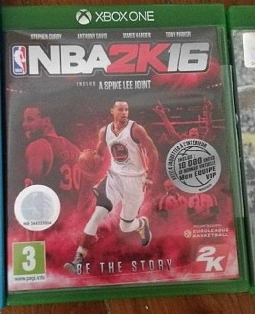 Vendsjeu vidéo Xbox one NBA 2K16