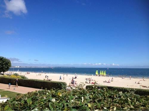 Loue la Baule (44) plage Benoit apt 3chambres 6couchages gde terrasse face mer