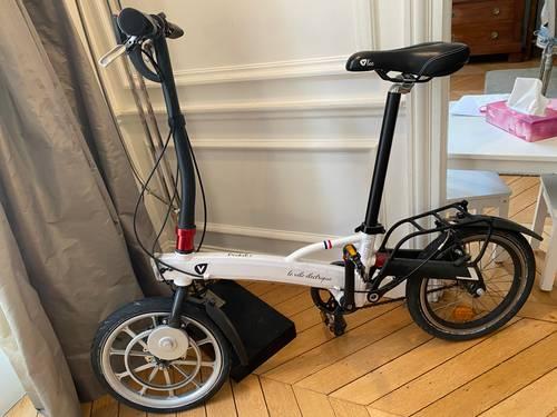 Vélo électrique pliant V'lec pocket +