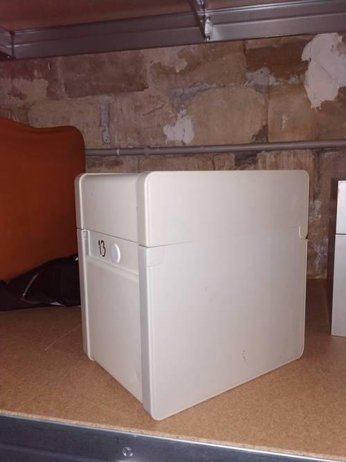 2boîtes de rangement pour fiches bristol Format A5