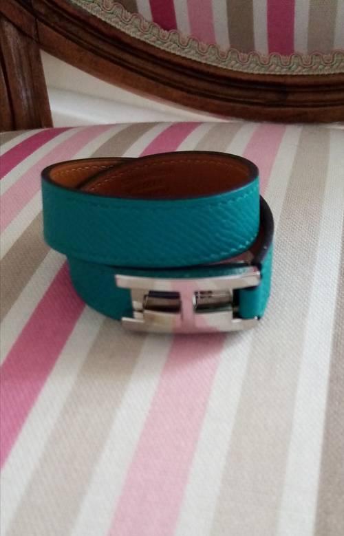 Bracelet en cuir Hermès