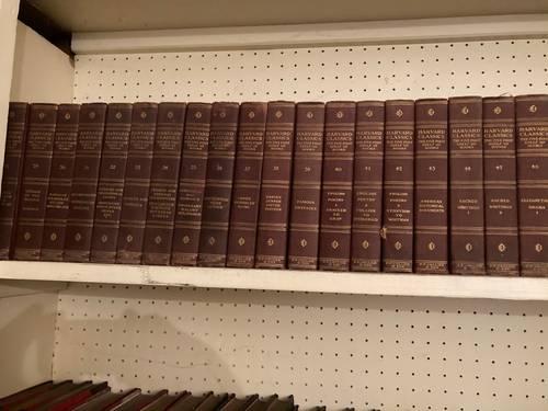 Vends collection de livres anciens anglais
