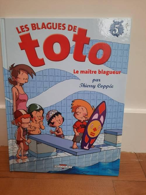 Vends la BD Les blagues de Toto – Le maître blagueur (état neuf)