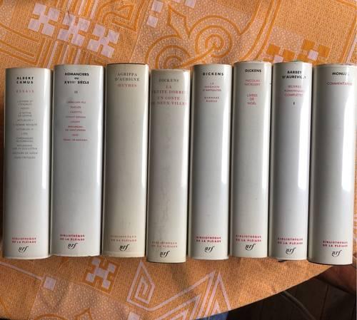 Vends quelques volumes de La Pléiade