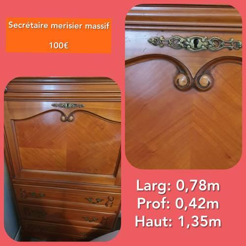 Vends meuble secrétaire