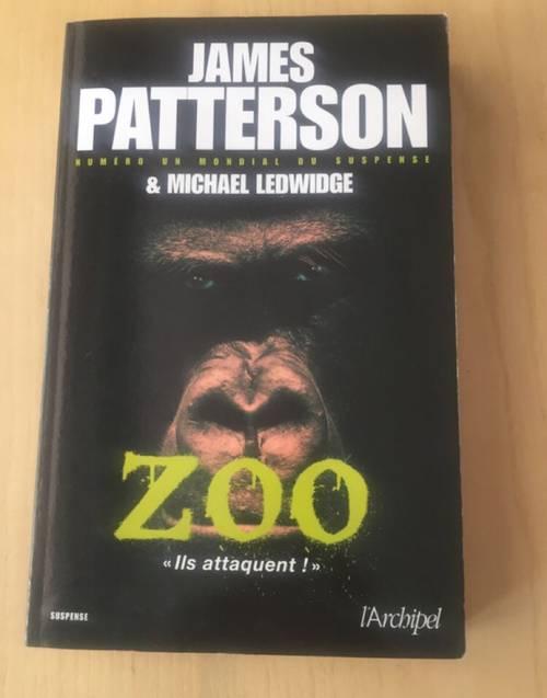 Roman thriller« Zoo » (grand format)