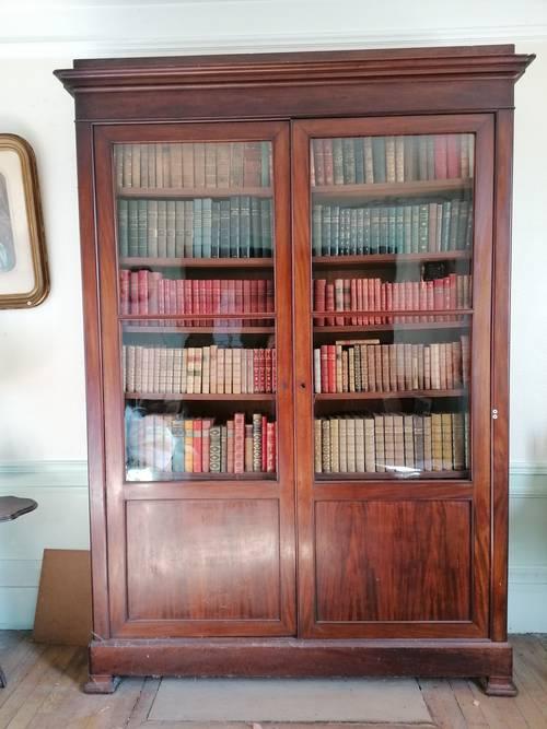 Vente bibliothèque parfait état