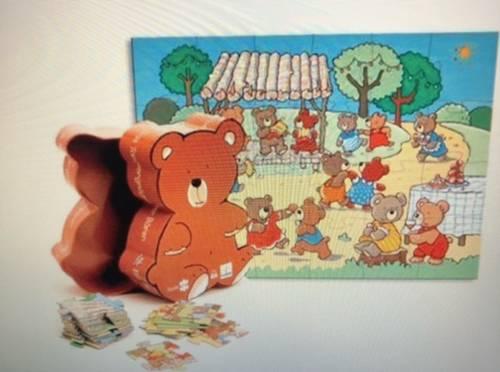 Puzzle le bal des Ours by Djeco