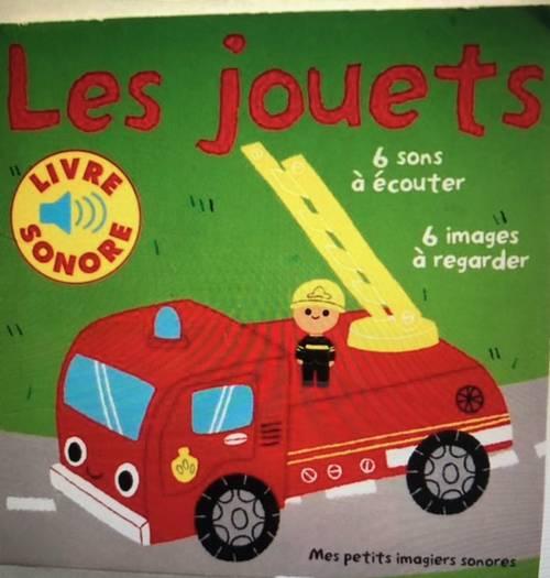 Les jouets 6sons à écouter, 6images à regarder chez Gallimard